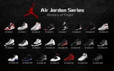 Air Jordan Sneakers Series, What Are The Classic Shoes? Air Jordan 1~Air Jordan 10.