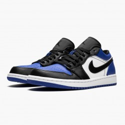 "Air Jordan 1 Low ""Royal Toe"" CQ9446 400 Sport Royal/Black-White AJ1 Jordan"