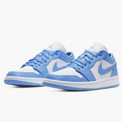 """Air Jordan 1 Low """"UNC"""" University Blue/White AO9944 441 AF1"""