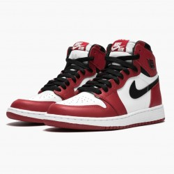 "Air Jordan 1 Retro ""Chicago"" White/Black-Varsity Red 575441 101 AJ1 Jordan"