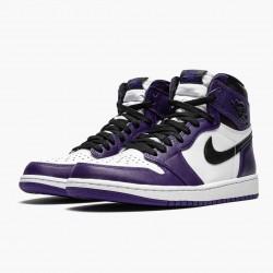 "Air Jordan 1 Retro High OG ""Court Purple"" 555088 500 AJ1"