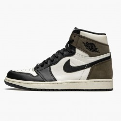 "Air Jordan 1 Retro High ""Dark Mocha"" Sail/Dark Mocha-Black-Black 555088 105 AJ1 Jordan"
