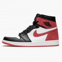 "Air Jordan 1 Retro High OG ""Track Red"" Summit White/Track Red-Black 555088 112 AJ1 Jordan"