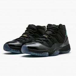 "Air Jordan 11 Retro ""Gamma Blue"" 378037 006 Black/Gamma Blue-Varsity Maize AJ11 Black Jordan"