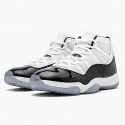 "Air Jordan 11 Retro ""Concord"" 2018  White/Black-Concord 378037 100 AJ11"