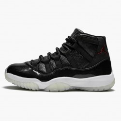 "Air Jordan 11 Retro ""72-10"" 378037 002 Black Gym Red-White-Anthracite AJ11 Black Jordan"