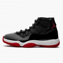 "Air Jordan 11 Retro ""Bred"" 2019 Black/White/Varsity-Red 378037 061 AJ11"