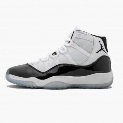 "Air Jordan 11 Retro ""Concord 2018"" 378038 100 White Black-Concord AJ11 Black Jordan"