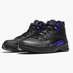 "Air Jordan 12 Retro ""Dark Concord"" AJ12 CT8013 005 Black/Black-Dark Concord Jordan"