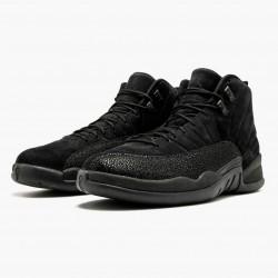 "Air Jordan 12 Retro ""OVO Black"" AJ12 873864 032 Black/Black-Metallic Gold Jordan"
