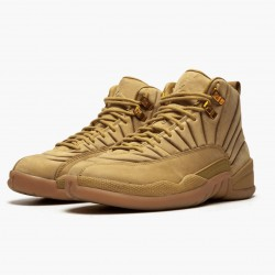 "Air Jordan 12 Retro ""PSNY Wheat"" AJ12 AA1233 700 Wheat/Wheat-Gum Light Brown Jordan"