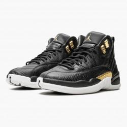 """Air Jordan 12 Retro """"Reptile"""" AJ12 AO6068 007 Black/Metallic-Gold White Jordan"""