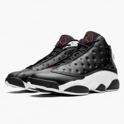 "Air Jordan 13 ""He Got Game"" 414571 061 Black/Gym Red-White AJ13 Jordan"