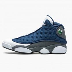 """Air Jordan 13 Retro """"Flint"""" Navy/Flint Grey-White-Universi 414571 404 AJ13 Jordan"""