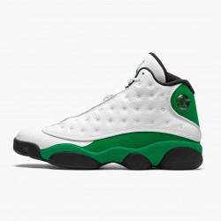 "Air Jordan 13 Retro ""Lucky Green"" White/Black-Lucky Green DB6537 113 AJ13 Jordan"