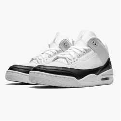 "Air Jordan 3 Retro ""Fragment"" DA3595 100 White/Black-White AJ3 Jordan"