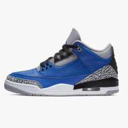 "Air Jordan 3 Retro ""Varsity Royal Cement"" CT8532 400 Varsity Royal/Varsity Royal AJ3 Jordan"