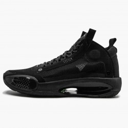 "Air Jordan XXXIV PE ""Black Cat"" Black/Black-Dark Smoke Grey BQ3381 003 AJ34"