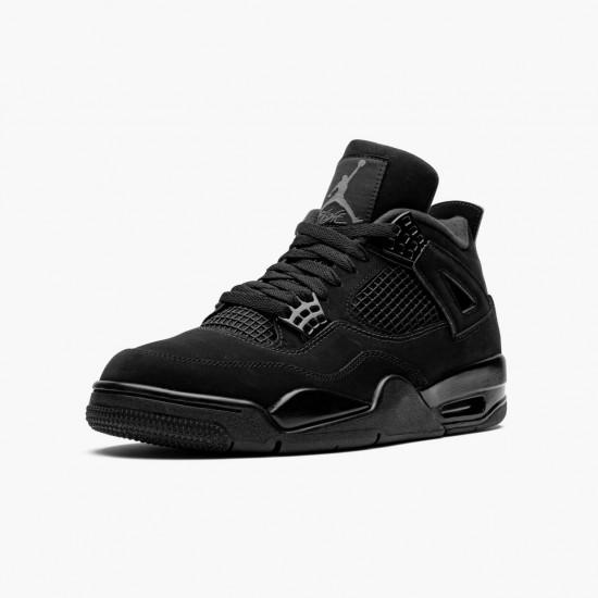 Air Jordan 4 Retro Black Cat CU1110 010 Black/Black-Light Graphite AJ4 Jordan