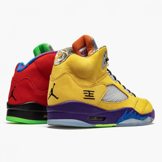 Air Jordan 5 Retro What The Varsity Maize/Court Purple-Gho CZ5725 700 AJ5 Jordan