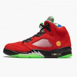 "Air Jordan 5 Retro ""What The"" Varsity Maize/Court Purple-Gho CZ5725 700 AJ5 Jordan"