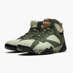 "Air Jordan 7 Retro ""Patta Icicle"" Icicle/Sequoia-River Rock/Ligh AT3375 100 AJ7 Jordan"
