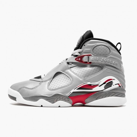 Air Jordan 8 Reflections of a Champion Reflect Silver/Hyper Blue-True AJ8 CI4073 001